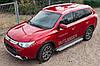 Балки поперечные для рейлингов Mazda CX-5/Mitsubishi ASX/Outlander/Audi A3/A4/A6/Q3/Q5/Q7, фото 3