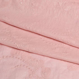 Батист ткань с вышивкой, отделкой