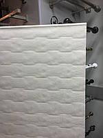 Готовая рулонная штора бежевого цвета, размер 1030 Х 1250