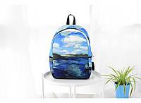 Рюкзак с принтом Пейзаж