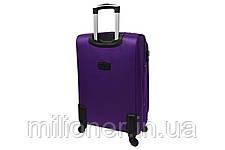 Чемодан Bonro Tourist 4 колеса (средний) фиолетовый, фото 2