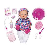 Кукла Baby Born Зимняя Красавица 43 см Нежные объятия Zapf 826140 (Мягкотелая - Нежные объятия), фото 1