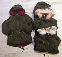 Куртки на меху для девочек оптом, Seagull, 8-16 лет., арт.CSQ-65048, фото 1