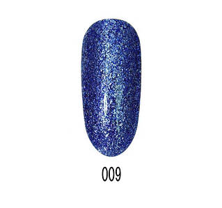 Гель-лак Starlet Platinum Glitter shine №009, 10 мл