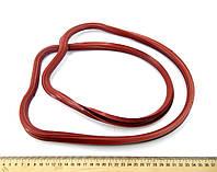 Прокладка клапанной крышки (236-1003270) ЯМЗ-236 (красная)