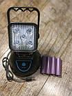 Переносной светодиодный прожектор WJ004-5XPE с мигалкой, фото 2