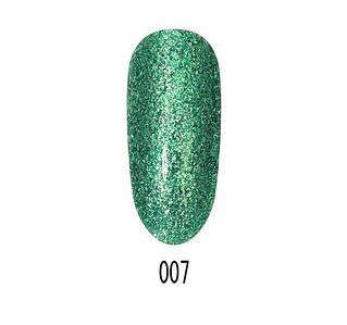 Гель-лак Starlet Platinum Glitter shine №007, 10 мл