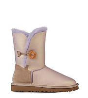 Женские угги UGG Bailey Button Metallic Amethyst, фото 1