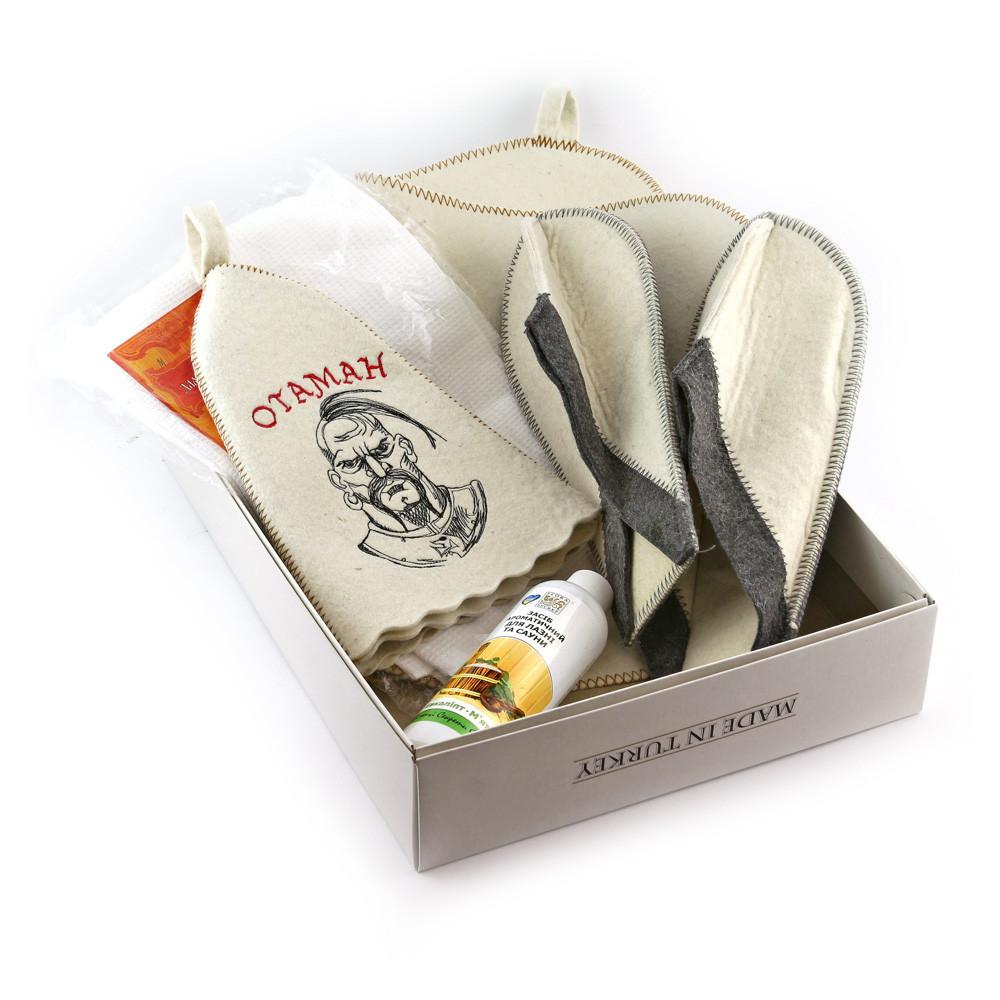 Подарочный набор для сауны №2 Отаман, для него