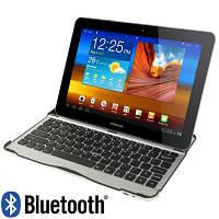 Ультра тонкая алюминиевая Bluetooth клавиатура для Samsung Galaxy Tab 10.1 P7510 P7500, фото 1
