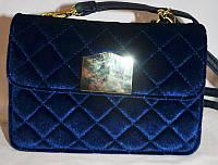 Жіноча сумка/клатч Chanel, Шанель, велюровий, 058130