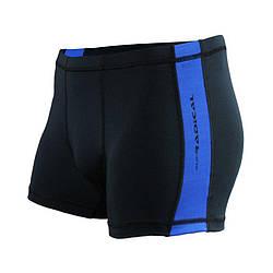 Плавки мужские для купания Radical Shoal  черный (синяя строчка) (Польша) r4131