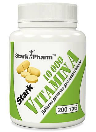 Вітамін Stark Pharm Vitamin A 10 000 200 таб, фото 2