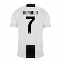 Футбольная форма Ювентус домашняя Роналдо (2018-2019), Adidas, Клуб,  Взрослая e8a30dd0761