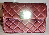 Жіноча сумка/клатч Chanel, Шанель, велюровий, 058132