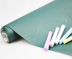 Грифельная наклейка с мелками Kronos Top 45х200 см Green (top-449)