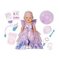 Кукла Baby Born Принцесса-Фея 43 см Zapf 826225 (Мягкотелая - Нежные объятия)