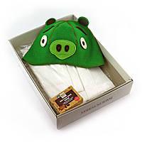 Подарочный набор для сауны №5 Свинка, для нее