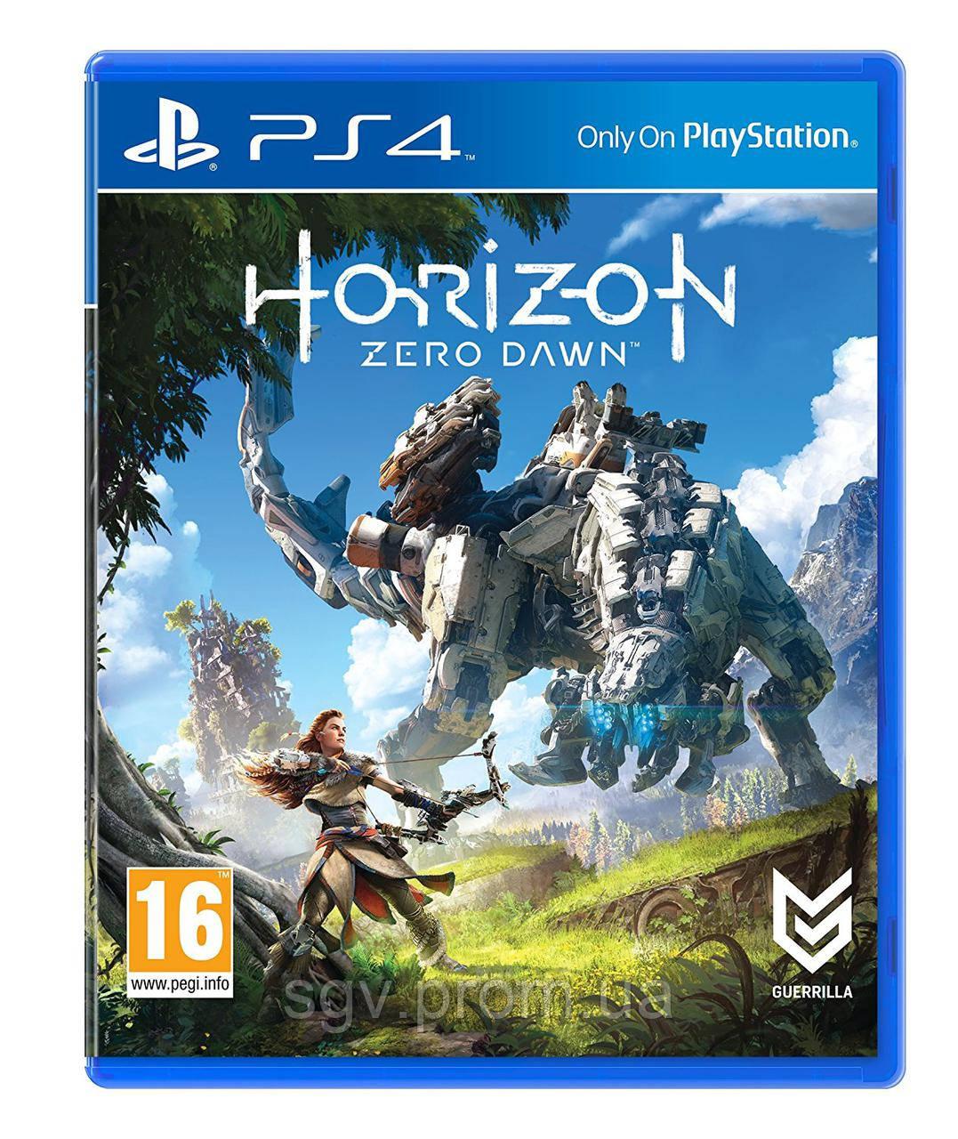 Horizon Zero Dawn (PS4, русская версия)