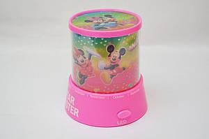 Проектор звездного неба Star Master Mickey Mouse Pink (gr006479)