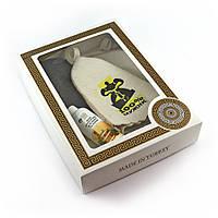 Подарочный набор для сауны №6 100% мужик, для него