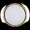 Светильник точечный встраиваемый  Ilumia 049 RL-GX53-90-gold под лампу GX53 круглый