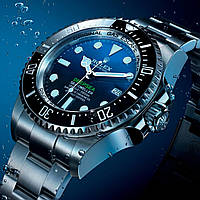 Часы Rolex Deepsea Sea-Dweller D-Blue мужские копия AAA, фото 1