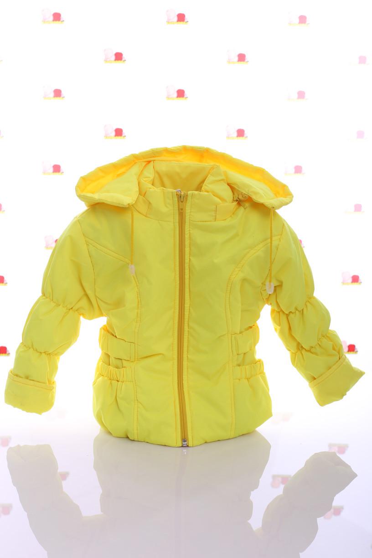 Куртка Под Резинку желтая
