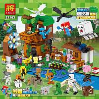 Конструктор  Minecraft (аналог Lego) Lele Загородный дом 1007 деталей., фото 1