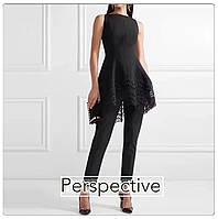 Костюм Dior туника с брюками черный, фото 1
