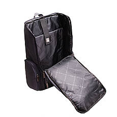Рюкзак для ноутбука DUBYAO чёрный ткань полиэстер 28х46х12     ксС41ч, фото 3