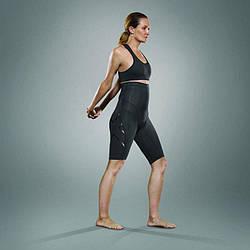 Женские компрессионные шорты для послеродового периода 2XU WA3600b (чёрный / чёрный логотип)