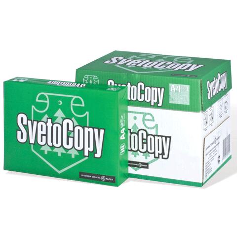 Бумага офисная SvetoCopy A4 80 г/кв.м, 500 листов