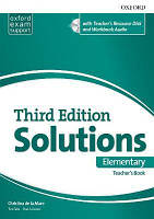 Solutions 3rd Elementary: Essentials TB & RES DISK PK