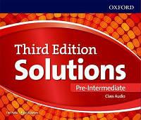 Solutions 3rd Pre-intemediate: CLASS CD's