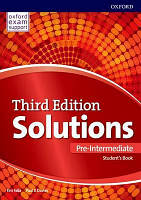 Solutions 3rd Pre-intemediate: Students Book