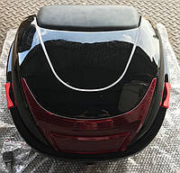 Кофр пластиковый с шлемом черный