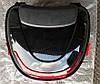 Кофр багажник чорний пластиковий з шоломом, фото 2