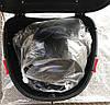 Кофр багажник чорний пластиковий з шоломом, фото 5