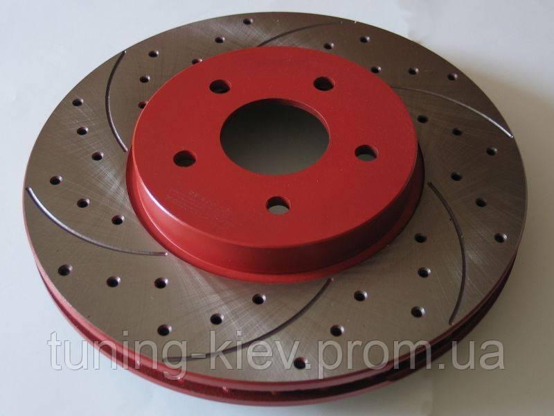 Тормозной диск передний вент. HONDA CIVIC VIII / FR-V 0827