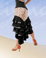 Спідниця Латина,Танго для тренувань.