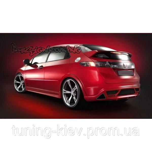 Накладка задняя Honda Civic VIII