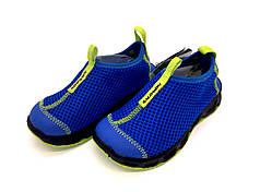 Кроссовки Salomon 31 Синие с салатовым (Salomon RX MOC K 117761 31)