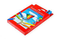 Цветные карандаши Faber-Castell 30 цветов трехгранные JUMBO