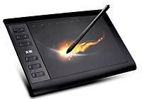 Графический планшет для рисования 10Moons + чехол в подарок