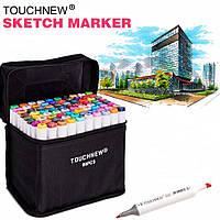 Sketch-маркеры «Touchnew» 60 цветов. Набор для анимации и дизайна