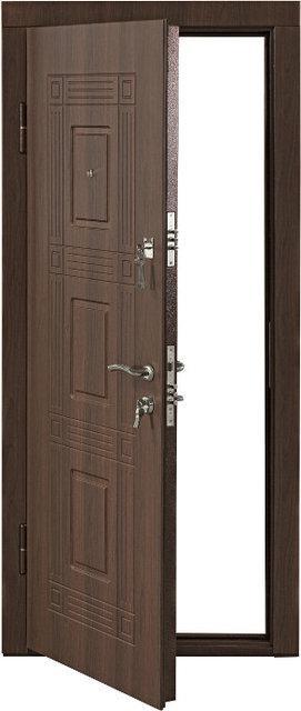 Входная дверь металлическая Орех белоцерковский