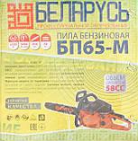 Бензопила Беларусь БП65-М, фото 2