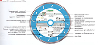 Алмазные отрезные круги для УШМ и плиткорезов
