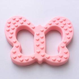 Бабочка (кварц)  силиконовый прорезыватель для зубов